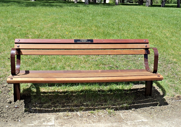Commemorative Bench Wascana Centre